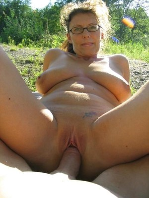 Big Tits porn photo with mature women